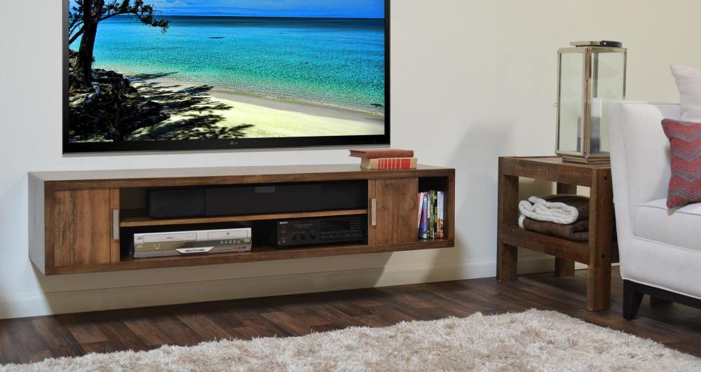 Tv Stand Under Wall Mounted Tv