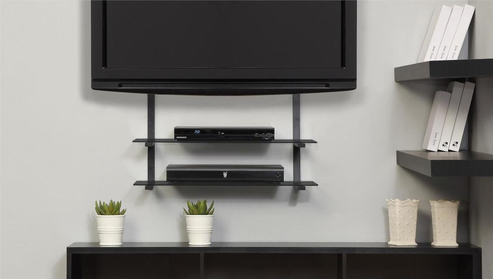 Tv Stand Wall Mount With Shelf