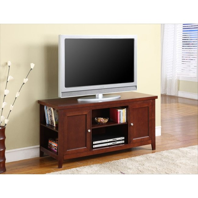 Tv Stand Walnut Finish