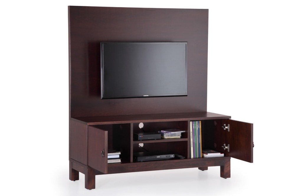 Tv Stand With Back Panel Mount