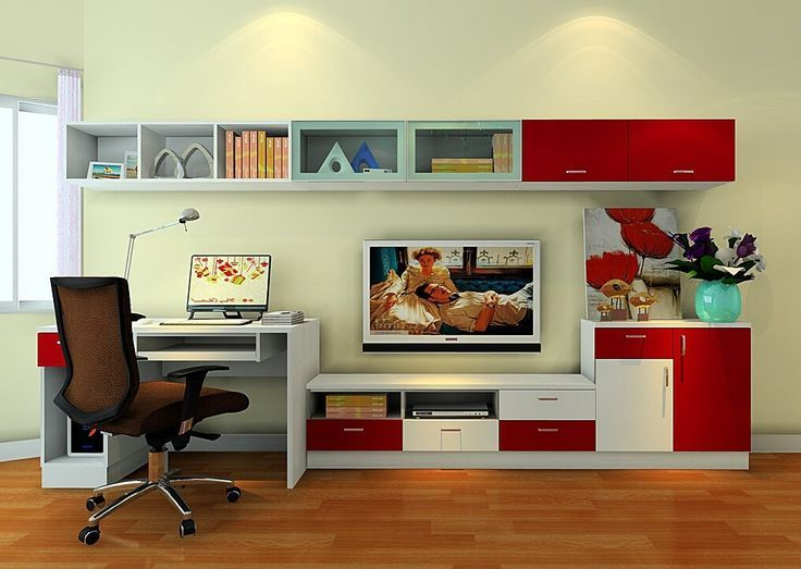 Tv Stand With Computer Desk