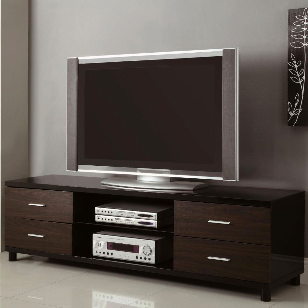 Tv Stand With Drawers And Open Storage
