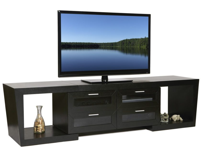 Tv Stand With Drawers Black