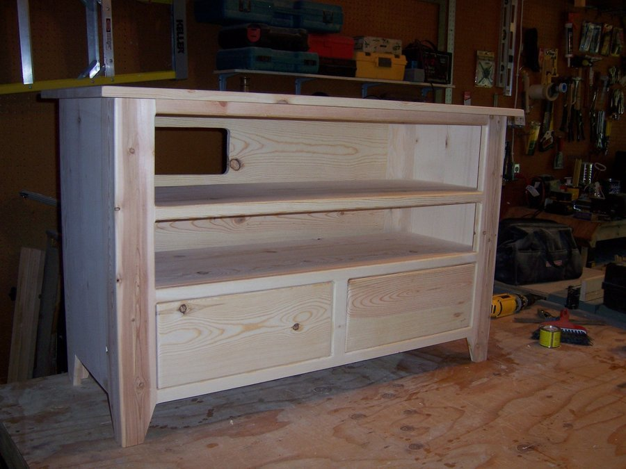 Tv Stand With Dvd Drawers