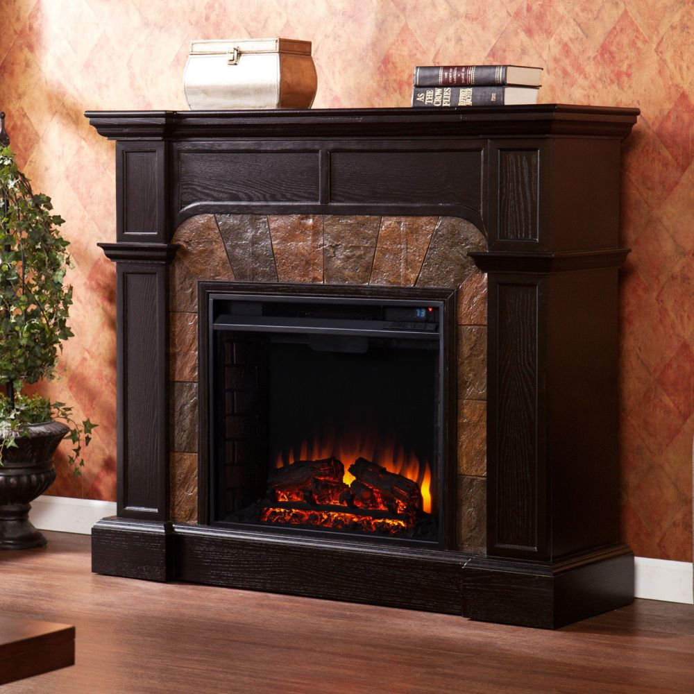 Tv Stand With Electric Fireplace Heater