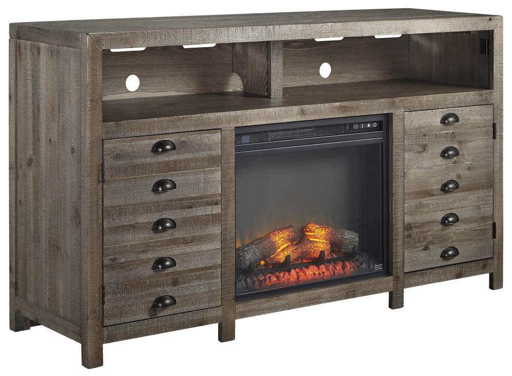 Tv Stand With Electric Fireplace Insert