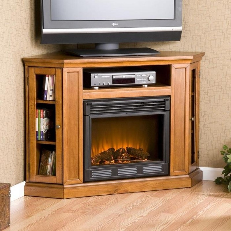 Tv Stand With Electric Fireplace Lowes
