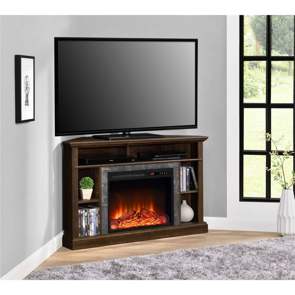 Tv Stand With Electric Fireplace Walmart