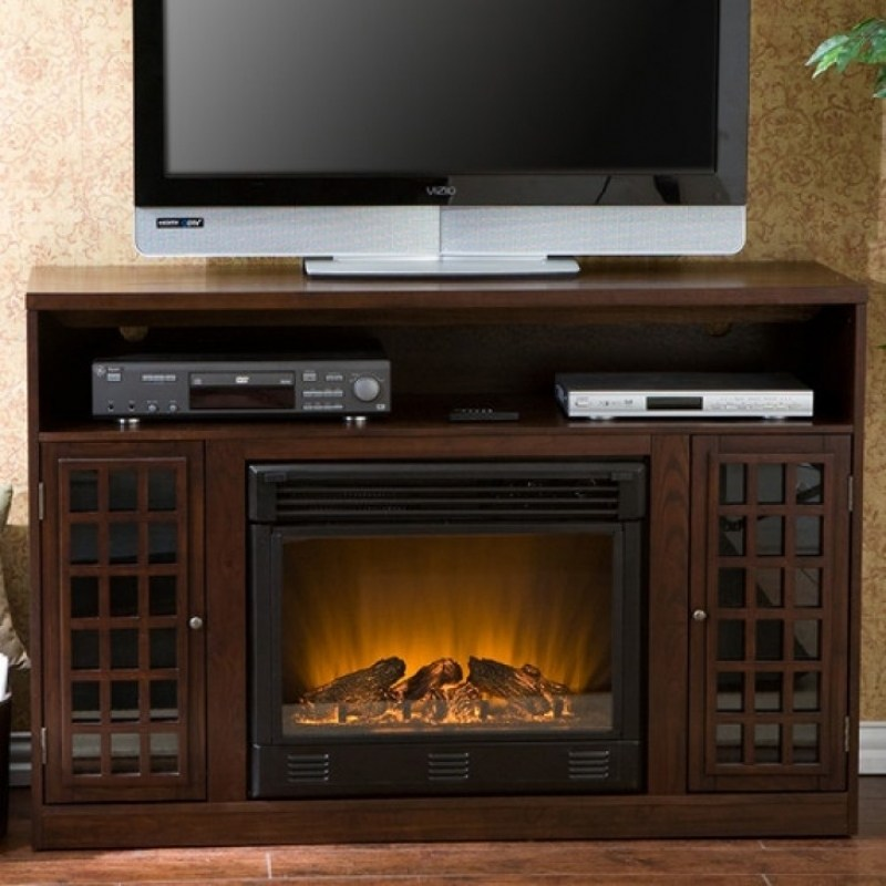 Tv Stand With Fireplace Lowes