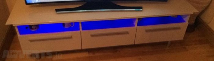 Tv Stand With Led Lights For Sale