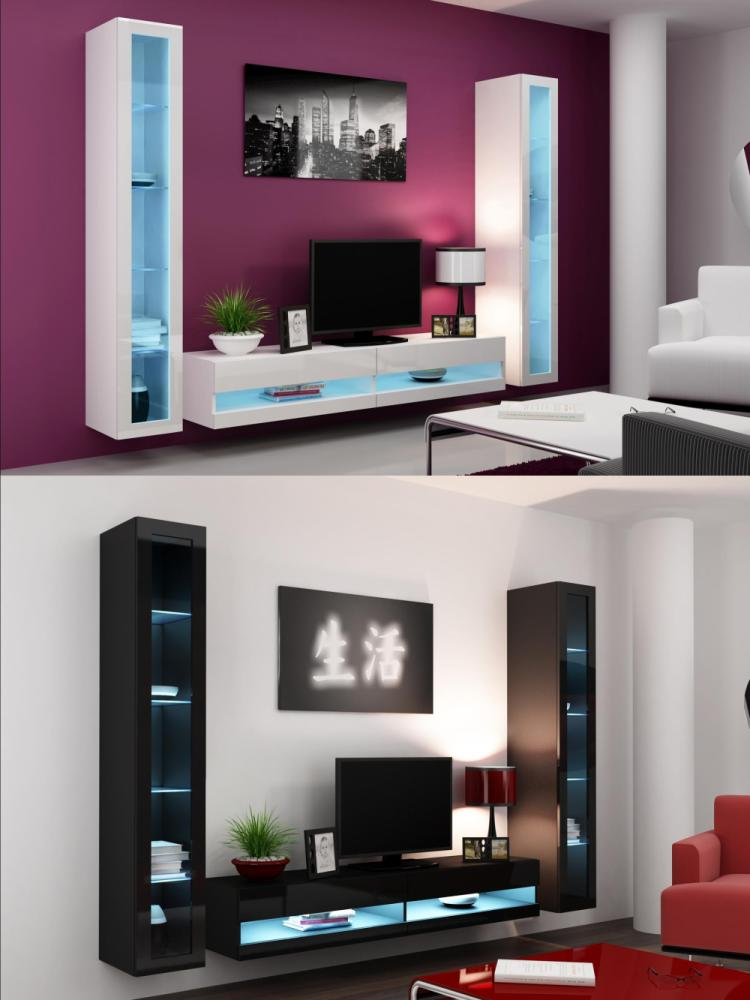 Tv Stand With Led Lights