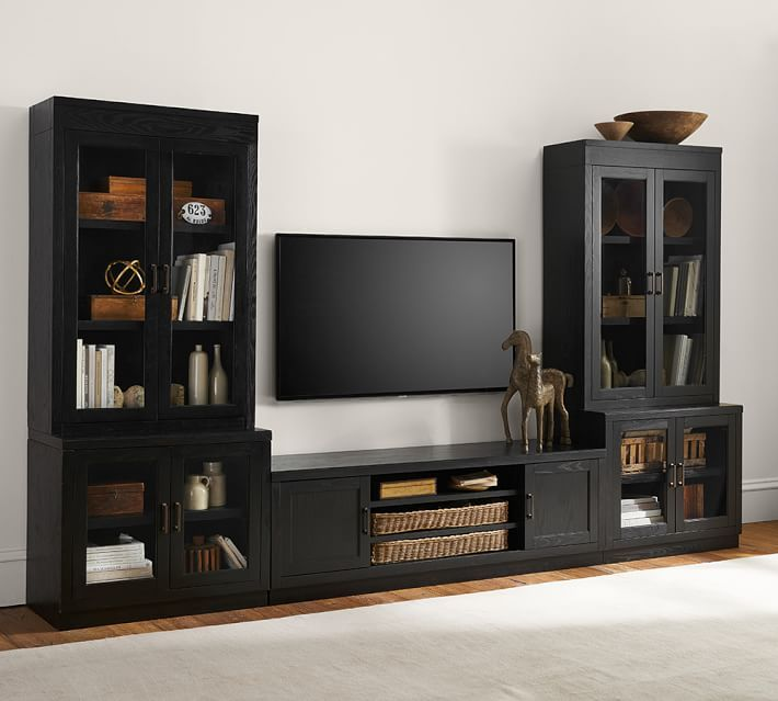 Tv Stand With Media Towers