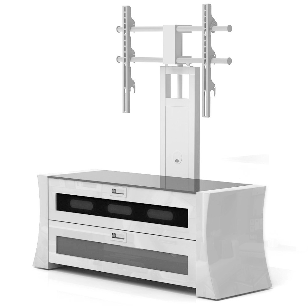 Tv Stand With Mount White