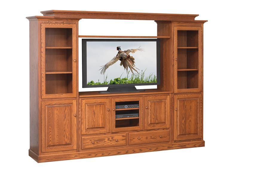 Tv Stand With Side Towers