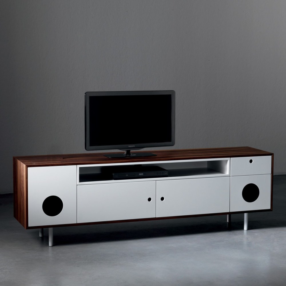 Tv Stand With Speakers Built In