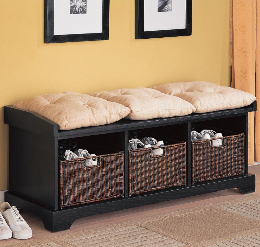 Tv Stand With Storage Baskets