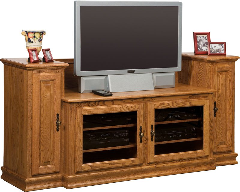 Tv Stand With Towers