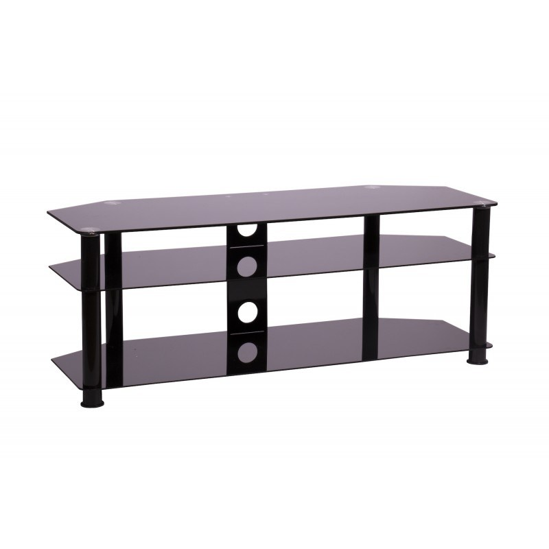Tv Stands Black Glass