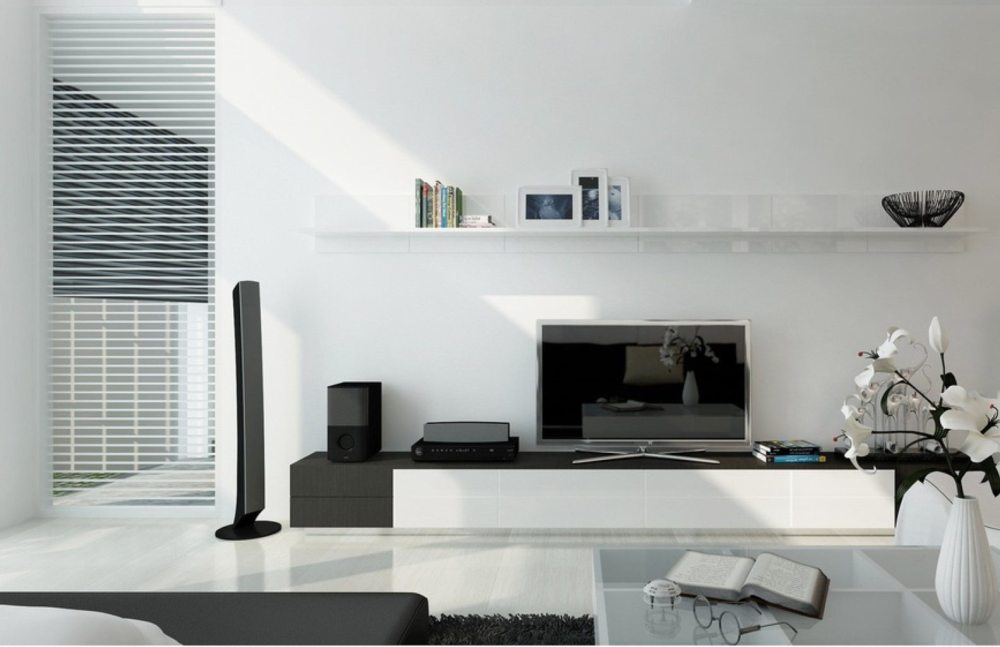 Tv Stands With Bookshelves
