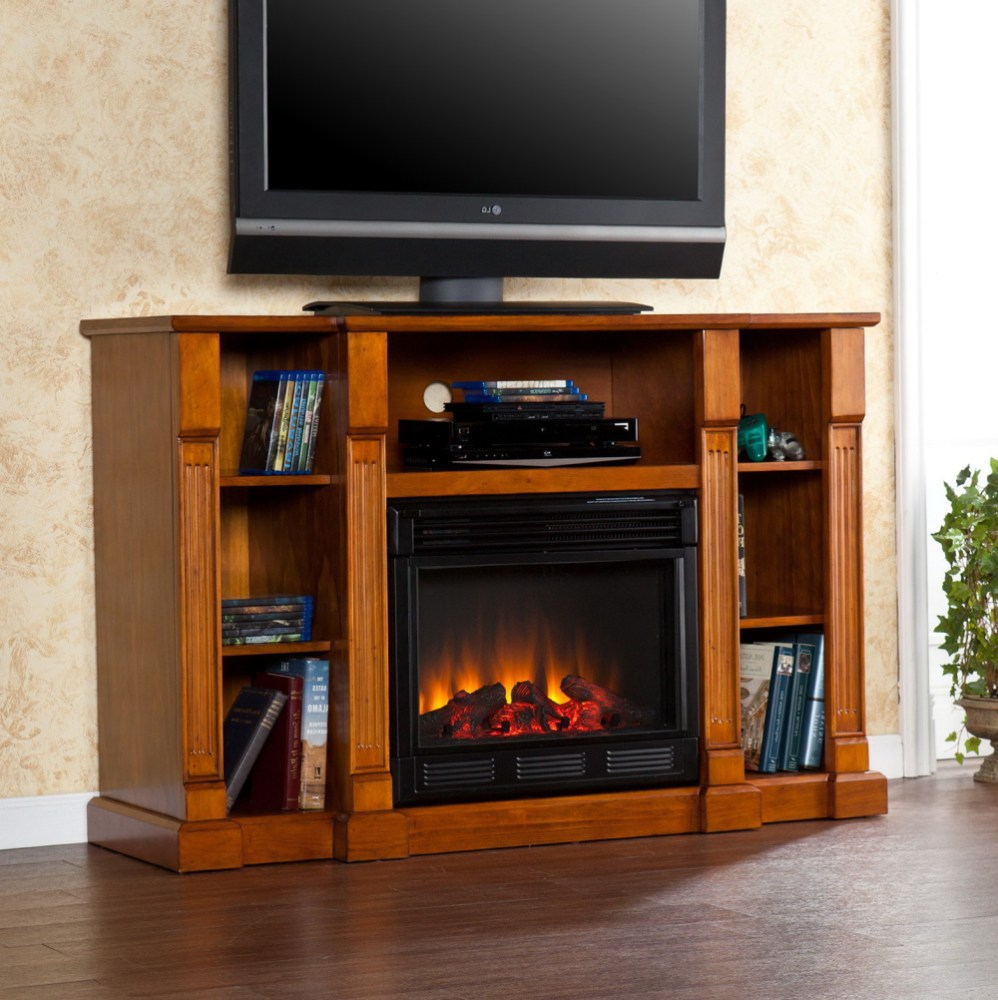 Tv Stands With Fireplace Costco