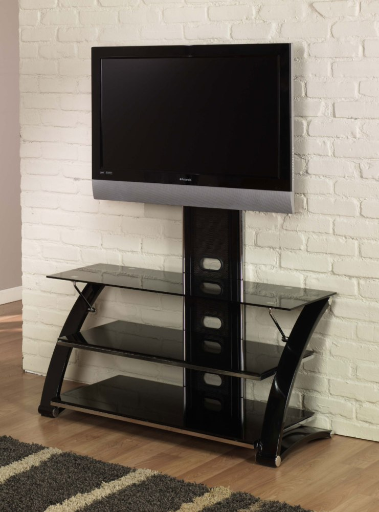 Tv Stands With Glass Shelves
