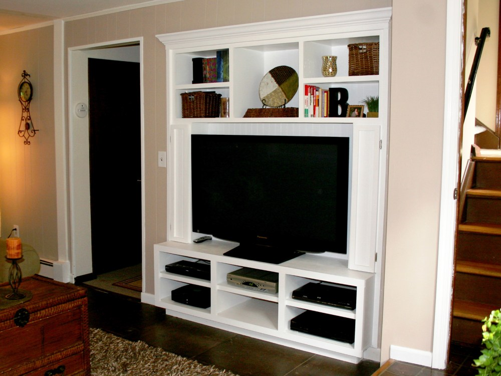 Tv Wall Stand With Shelf
