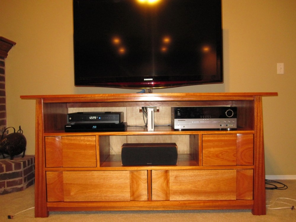 Tv Wood Stand Design