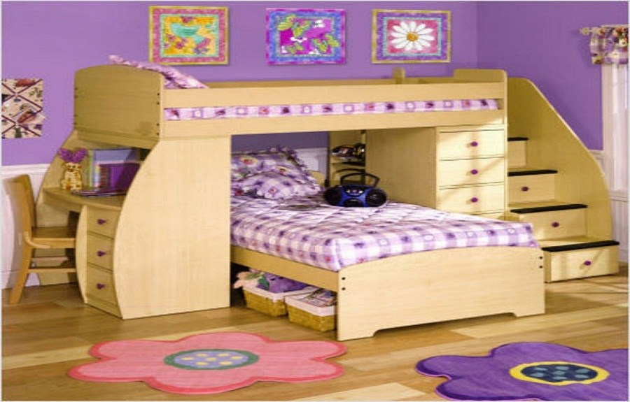 Twin Bunk Beds For Kids