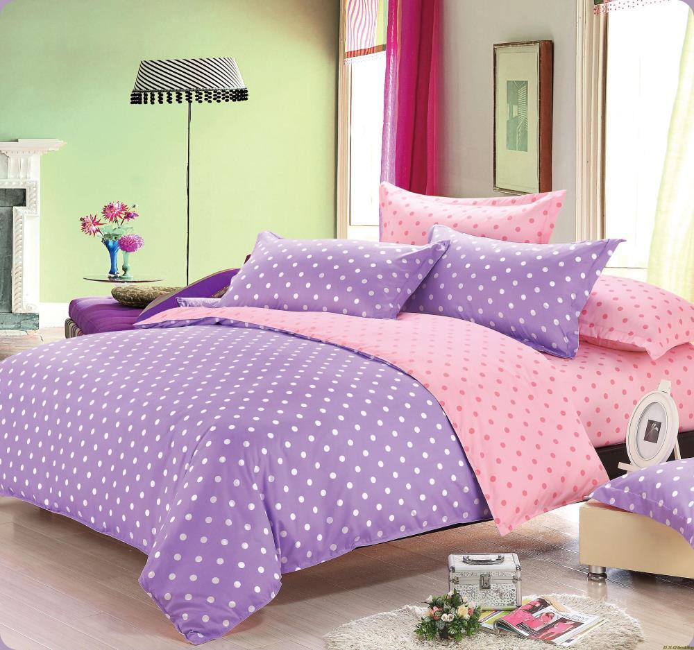 Twin Comforter Set Purple