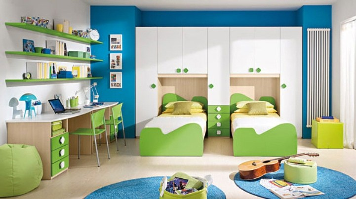 Twin Kids Bedroom Designs