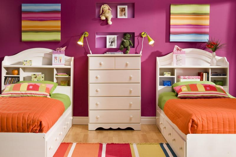 Twin Kids Bedroom Ideas