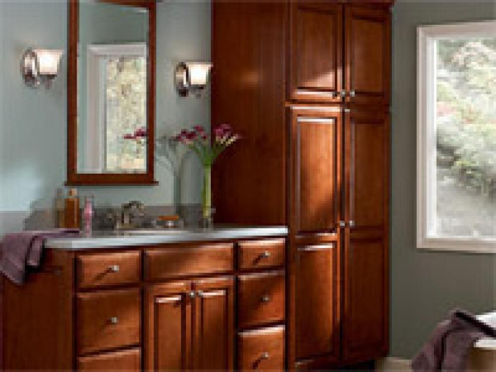 Unassembled Bathroom Vanity Cabinets
