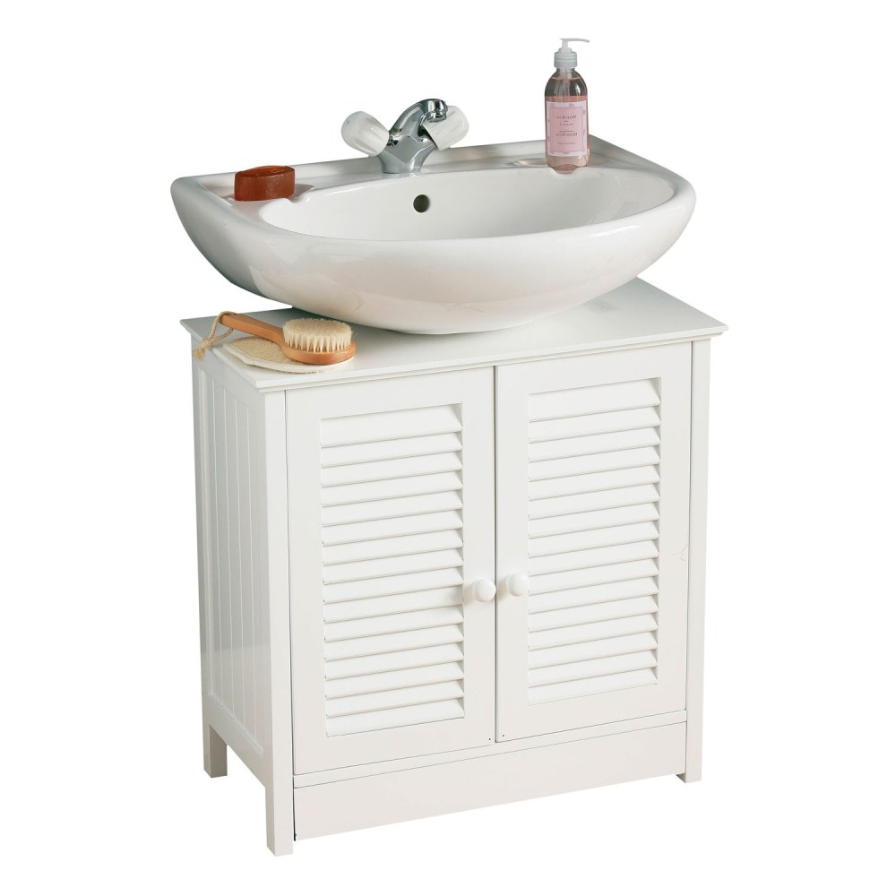 White Wood Cabinet Storage Unit Bathroom Under Sink Find It At With Under Sink Bathroom Storage