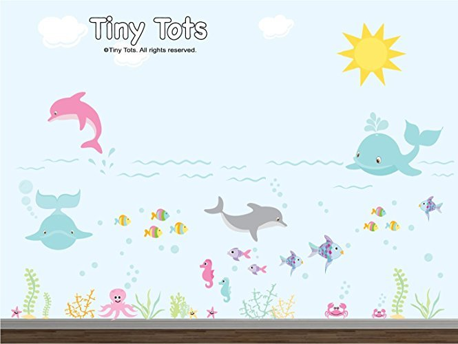 Under The Sea Wall Decals Nursery