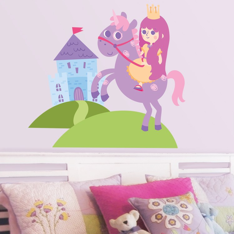 Unicorn Wall Decals Stickers