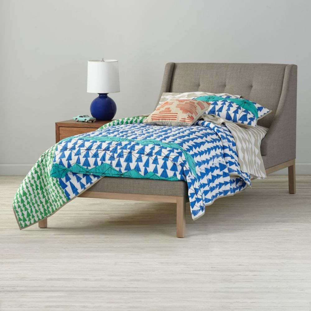 Upholstered Kids Bed