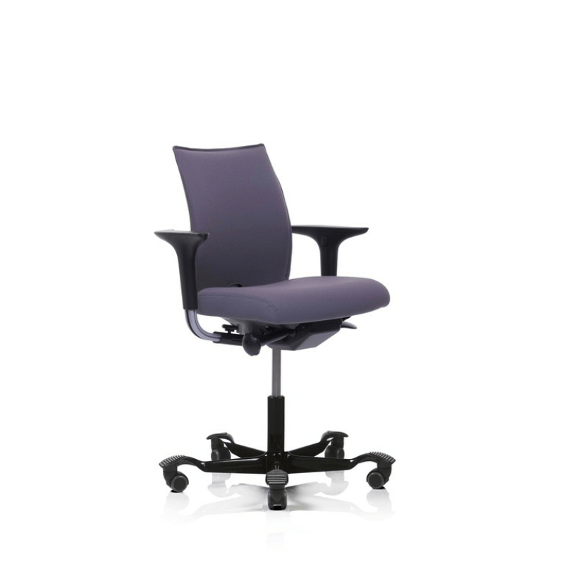 Upholstered Office Chair With Arms