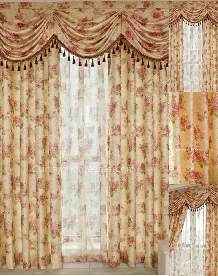 Valance Curtains For Bedroom