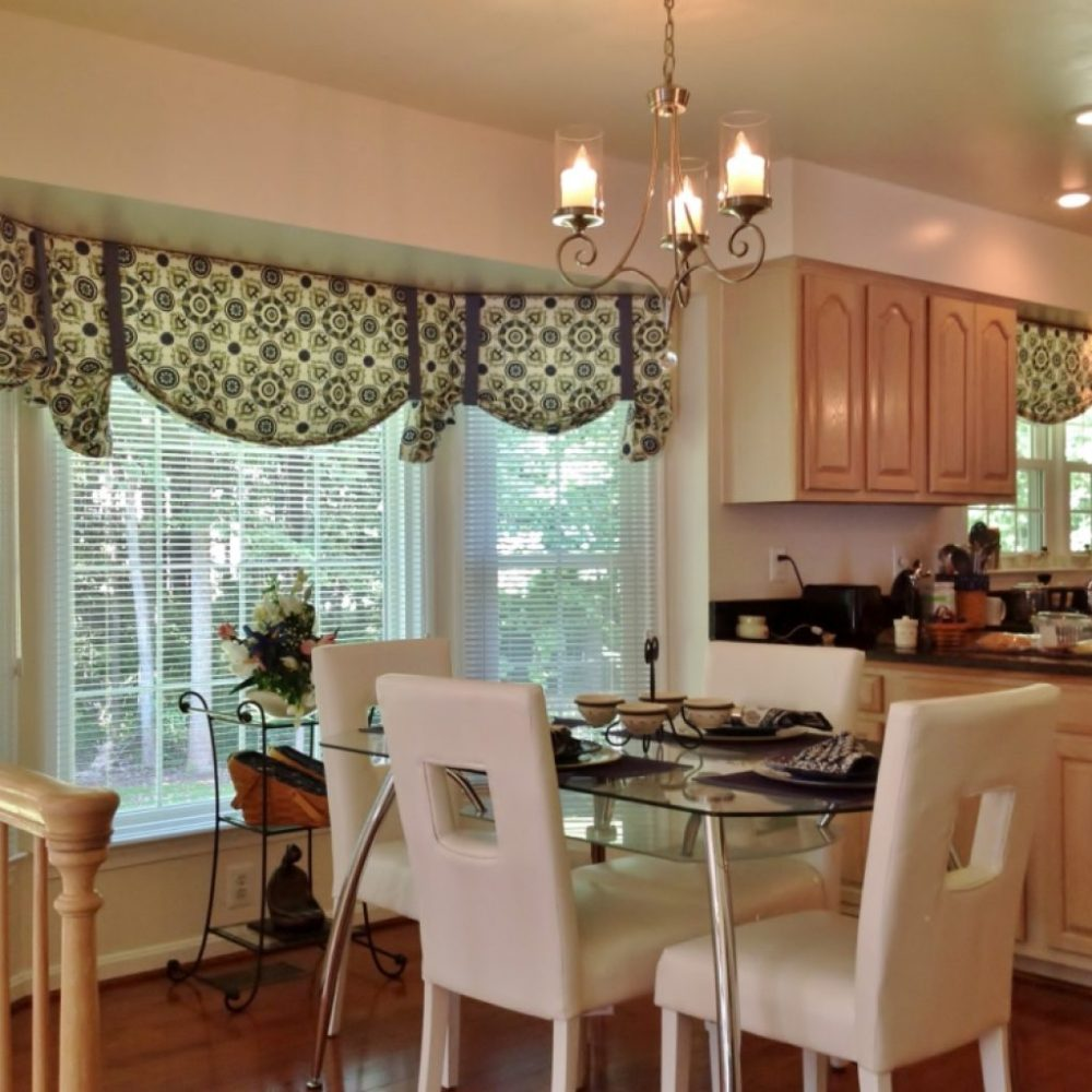 Valances For Kitchen Bay Window