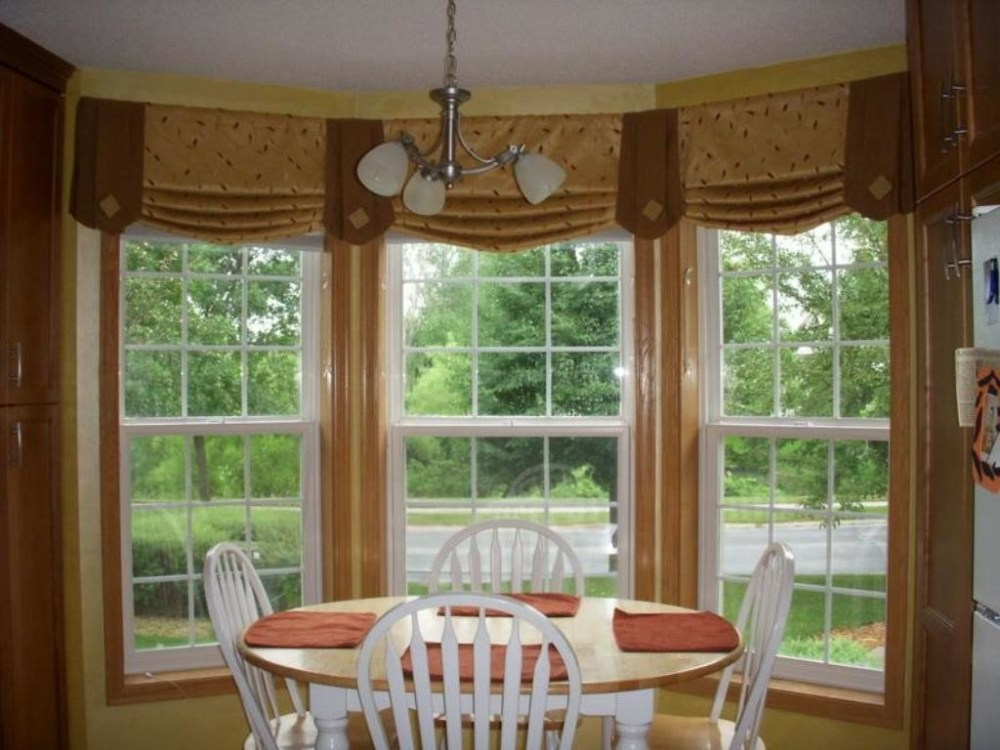 Valances For Living Room Bay Window