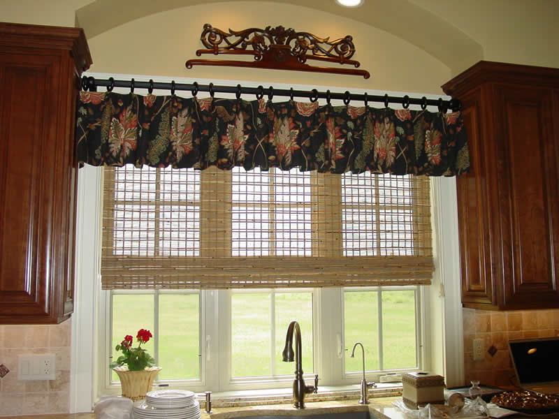 Vertical Blind Valance Ideas