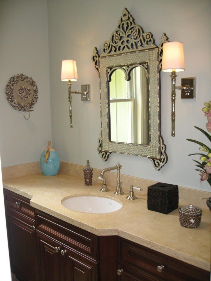 Victorian Style Bathroom Mirror