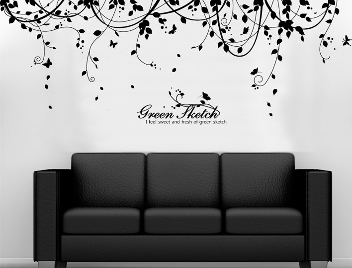 Vine Wall Decals