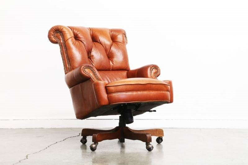Vintage Leather Office Chairs