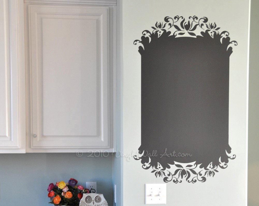 Vinyl Chalkboard Wall Decal