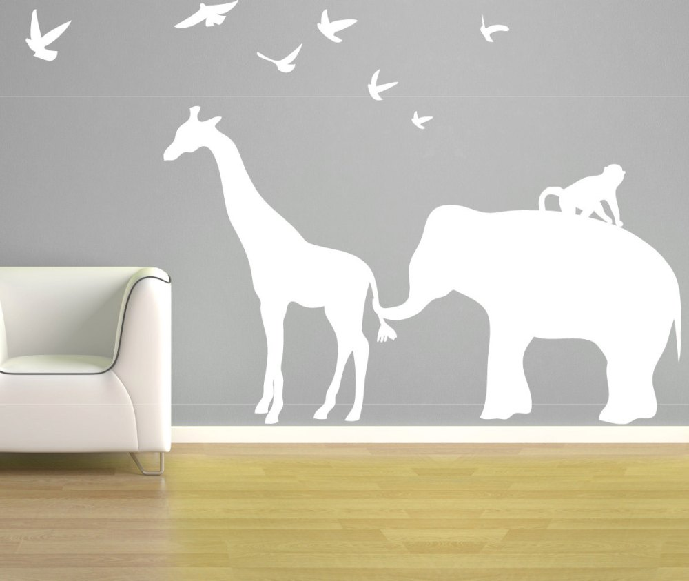 Vinyl Elephant Wall Decals