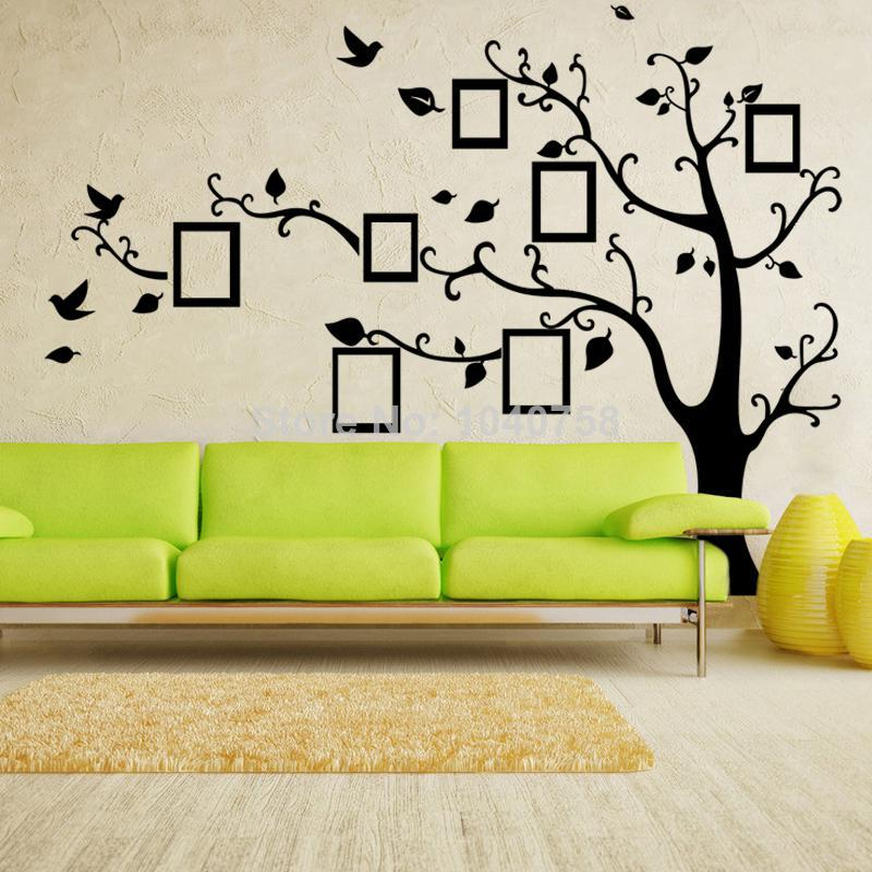Vinyl Family Tree Wall Decal