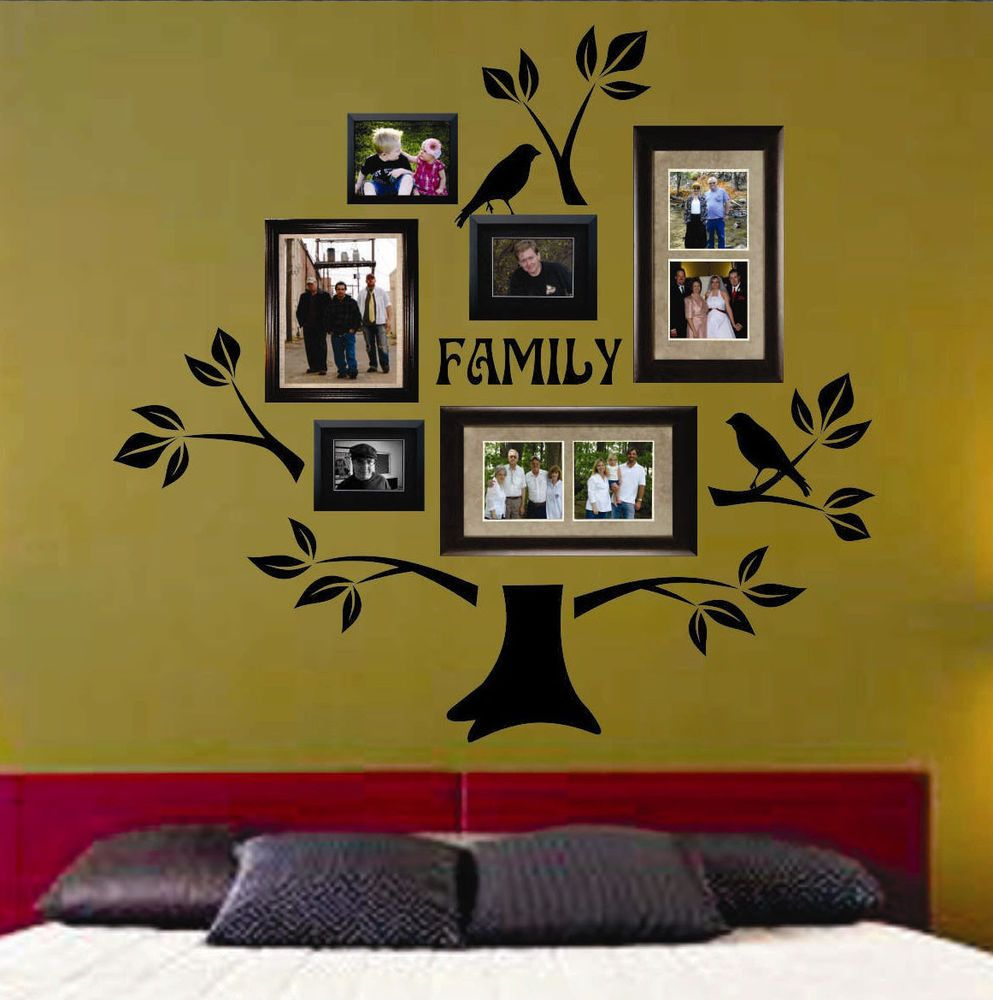 Vinyl Family Tree Wall Decals