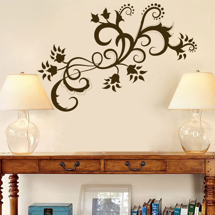 Vinyl Wall Decals Flowers