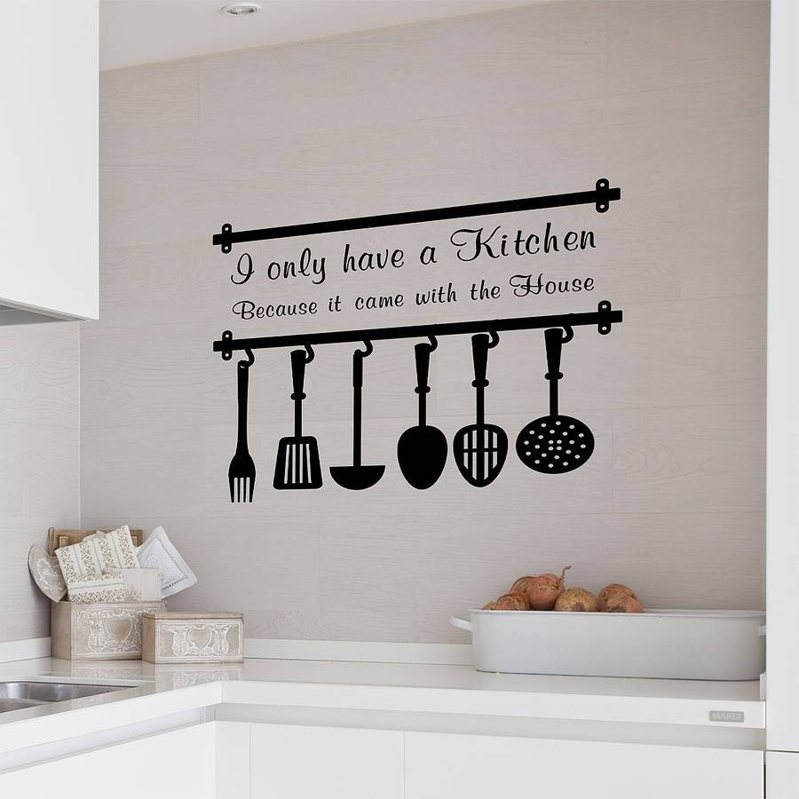 Vinyl Wall Decals Kitchen